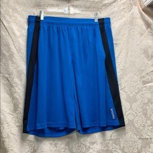 🌈🦄Reebok Blue & Black XL Shorts GUC